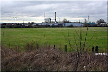 SE5023 : Fernley Green Industrial Estate and glass factory by Roger Templeman