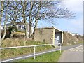 SW6326 : Bus shelter and stop, Wellington Road, Porthleven by David Smith