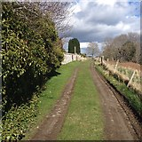 NH6750 : Towards Kilmuir Cemetery by Dave Thompson