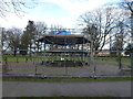TF4610 : Refurbishment of bandstand in Wisbech Park by Richard Humphrey