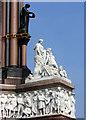 TQ2679 : Corner Detail, Albert Memorial by Des Blenkinsopp