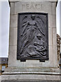 "NZ2464 : Newcastle War Memorial, ""PEACE"" by David Dixon"