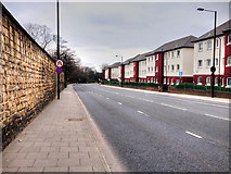 NZ2364 : Barrack Road (A189), Newcastle by David Dixon