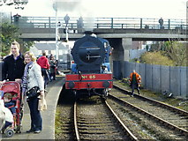 J4792 : Steam Locomotive No.85 approaches at Whitehead by Kenneth  Allen