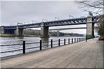 NZ2463 : River Tyne, King Edward VII Bridge, Newcastle by David Dixon