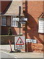 TM1354 : Roadsign on School Road by Adrian Cable