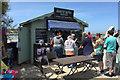 SS4730 : Beach Hut Café, Instow by Robin Stott