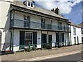 SS4730 : A pair of houses with balconies, Marine Parade, Instow by Robin Stott