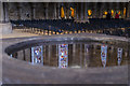 SK9771 : Font reflections, Lincoln Cathedral by Julian P Guffogg