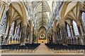 SK9771 : Interior, Lincoln Cathedral by Julian P Guffogg