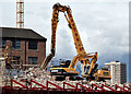 J3374 : The Orpheus Building (demolition), Belfast - March 2016(3) by Albert Bridge