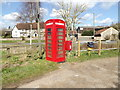 TM1554 : Telephone Box & The Bridge Rectory Road Postbox by Adrian Cable