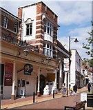 SU6351 : YMCA shop - Winchester Street by Sandy B