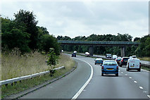 SK5993 : Southbound A1(M) East of Tickhill by David Dixon