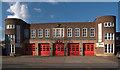 TQ3393 : Edmonton Fire Station by Julian Osley