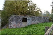 SU6168 : Pillbox, Ufton Lock by N Chadwick