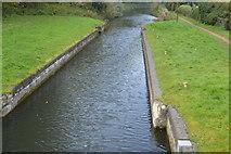 SU6168 : Ufton Lock (disused) by N Chadwick