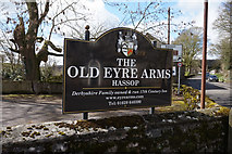 SK2272 : The Old Eyre Arms, Hassop by Ian S