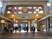 TQ0584 : Uxbridge tube station - concourse by Mike Quinn