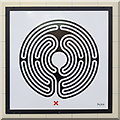TQ0584 : Uxbridge tube station - Labyrinth 34 by Mike Quinn