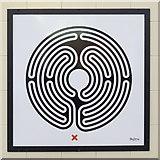 TQ0584 : Uxbridge tube station - Labyrinth 34 by Mike Quinn