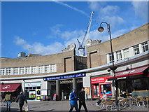 TQ0584 : Uxbridge tube station - entrance buildings by Mike Quinn