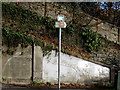 ST0996 : Celtic Trail signpost on a Quakers Yard corner by Jaggery