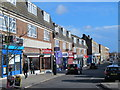 TQ1187 : Shops and flats in Field End Road, HA4 by Mike Quinn