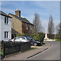 TL2739 : Ashwell: the corner of Station Road and Lucas Lane by John Sutton