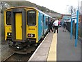 SM9438 : Train to Fishguard Harbour by Jonathan Wilkins