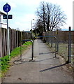 SO9221 : Combined footpath and cycleway, Hatherley, Cheltenham by Jaggery