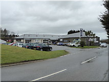 SX3358 : Kernow Mill shopping outlet by Chris Allen