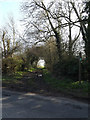 TM1556 : Green Way Byway to Pettaugh Lane by Geographer