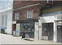 SU6351 : Shops on Wote Street by Sandy B