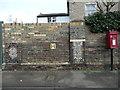 TL8741 : Mosaics (1/2),  Croft Road, Sudbury by Humphrey Bolton