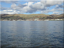 NS2059 : View of Largs from Great Cumbrae Ferry Terminal by Jonathan Thacker