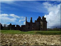 NY0265 : Caerlaverock Castle by Jay Wingfield