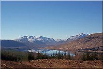 NH1804 : View towards Loch Loyne by Richard Dorrell