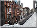 SP0786 : Station Street, Birmingham, in the shadow of New Street station by Robin Stott