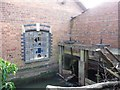 SO8104 : Sluices on the mill stream at Ryeford Mill by Christine Johnstone
