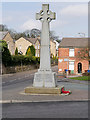 SD7711 : Walshaw War Memorial by David Dixon