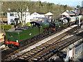 SX7466 : South Devon Railway - double headed ECS movement by Chris Allen