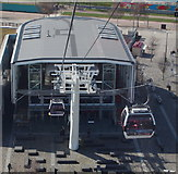 TQ3979 : North Greenwich Cable Car Terminal by David Hallam-Jones