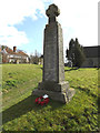 TM1354 : Coddenham War Memorial at St.Mary's Church by Adrian Cable