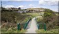 O2813 : Footbridge, Greystones by Rossographer