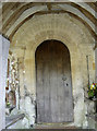 ST7469 : South porch of St Mary by Neil Owen