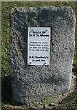 NX3343 : Time capsule, Port William by Richard Sutcliffe