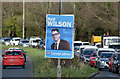 J3874 : Assembly election poster, Knock, Belfast - April 2016(2) by Albert Bridge