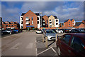 SJ6708 : Flats at Lawley, Telford by Ian S