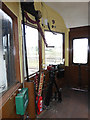 SX8061 : South Devon Railway - driving compartment of the autotrailer by Chris Allen